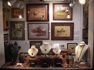 Gallery Show Window - Wyoming Trails Gallery